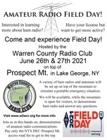 Field Day 2021 @ Prospect Mountain June 26th-27th